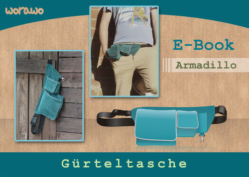 Ebook Gürteltasche Armadillo