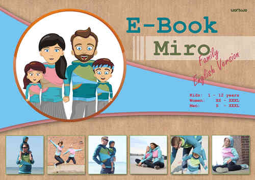 E-Book Pattern Miro Family (english version)